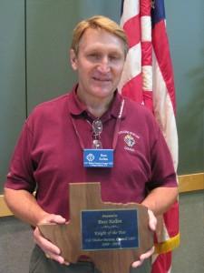 Russ Kellen - Knight of the Year 2010